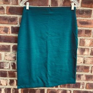 🌿 Mossimo Supply Co. Teal Pencil Skirt